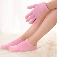 """Гелевые носки и перчатки увлажняющие """"Gel SPA"""""""