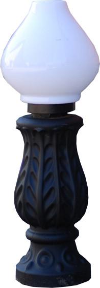Чугунный столбик (фонарь уличный) уличного освещения №4