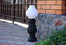 Чугунный столбик (фонарь уличный) уличного освещения №4, фото 2