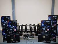 Майнинг ферма Sapphire Radeon RX 580 Nitro+ 4Gb