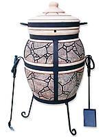 Тандыр премиум Козацкий / h=100 см, d=50 см (на выставке) мир тандыров