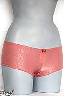 Трусики шортики из эластичной ткани - коралл M, L, XL, XXL