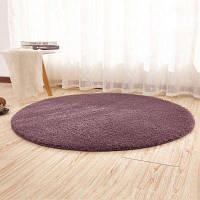 Напольный коврик Breif Style Solid Yoga Толстый мягкий противоскользящий круглый декоративный коврик 50x50cм