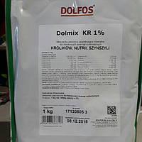 Премикс Дольфос КР 1% для кроликов 1 кг.