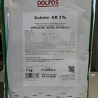 Премікс Дольфос KR для кролів 1% 1 кг