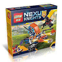 "Конструктор Lepin 14010 Nexo Knight (аналог Лего) ""Королевский боевой бластер"", 90 дет"