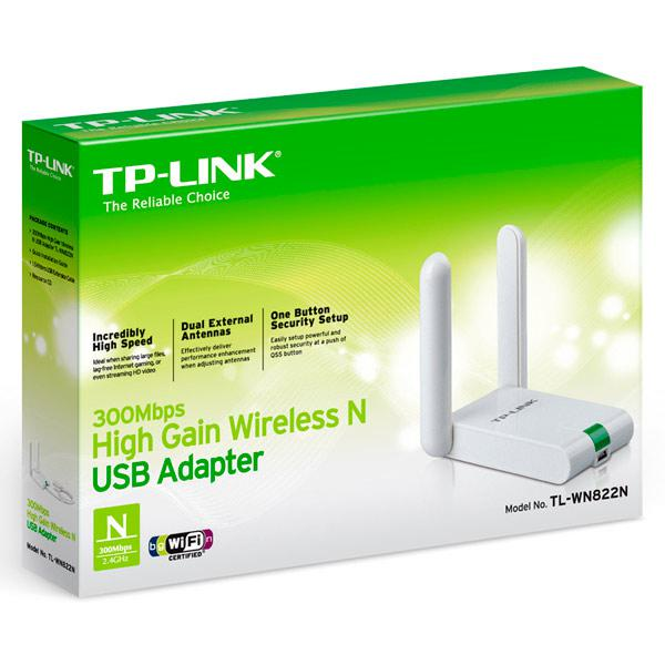 "Wi-Fi адаптер TP-LINK TL-WN822N ""Over-Stock"""