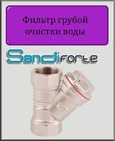 """Фильтр грубой очистки воды SD Forte 1/2"""" ВВ никель"""