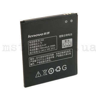 Аккумулятор Оригинал Lenovo BL204 A586, A765E, S696, A630T, A670T 1700 mAh