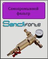 """Фильтр самопромывной с манометром SD Forte 1/2"""""""