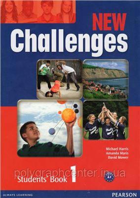 New Challenges 1 Комплект (Учебник + Тетрадь) Цветная копия!