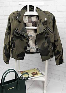 Женская кожаная куртка АД-334