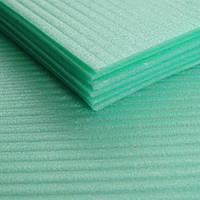Подложка листовая зеленая 4 мм под ковролин, паркет, ламинат,, Maxfloor