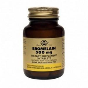 Bromelain, Бромелайн, Solgar, 500 мг,30 таблеток