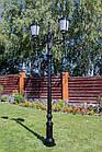 Чугунная опора (фонарь уличный) уличного освещения №3, фото 2