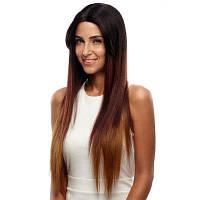 Ребекка Синтетические волосы Прямые кружева Передний парик Светлые волосы 31 дюйм RC0669 31 дюйм