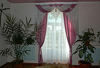 Ламбрекен шторы на балкон