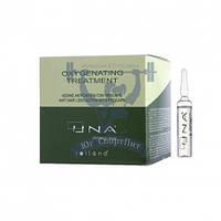 Rolland UNA Oxygenating Treatment Комплекс против выпадения волос,12 ампул