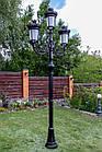 Чугунная опора (фонарь уличный) уличного освещения №4, фото 4