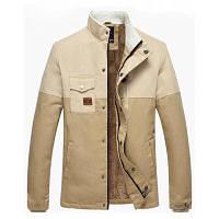 Двухцветная Флокированная Термокуртка На Молнии 3XL