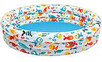 Бассейн надувной детский Интекс Аквариум