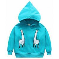 Grils Boys Catoon Animal Bat Sleeve Hoodie Толстовка Осенние детские пуловеры для 1-6Y 120