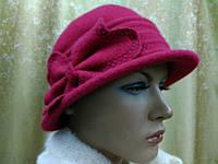 Шляпы RABIONEK из мягкой шерсти с цветком размер 56-57, фото 1