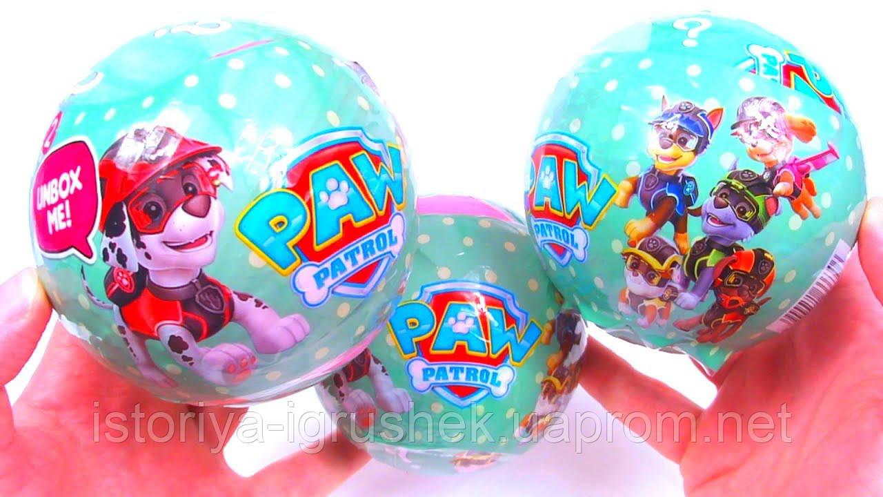Яйцо сюрприз Paw Patrol