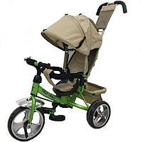 Трехколесный велосипед Tilly Trike T-343 Beige/Green KK