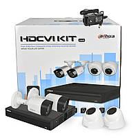 2 МП Комплект видеонаблюдения Dahua KIT-CV4FHD-2B/2D