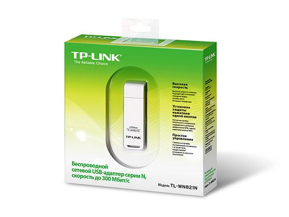 """Wi-Fi адаптер TP-LINK TL-WN821N """"Over-Stock"""""""