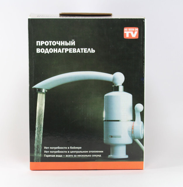 Проточный нагреватель водонагреватель Делимано мини -бойлер кран Оригинал Польша