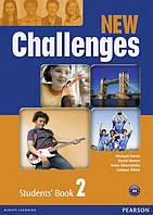 New Challenges 2 Комплект (Учебник + Тетрадь) Ч\Б копия!