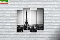 Картина модульная Париж