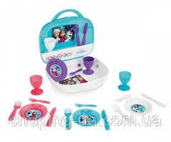 Чемоданчик с набором посуды Frozen Smoby 310548