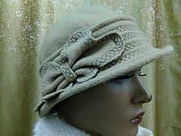 Шляпы RABIONEK из мягкой шерсти с цветком размер 56-57