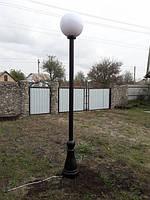 Полимерная опора (фонарь уличный) уличного освещения №1