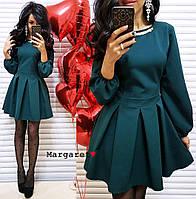 Платье Кокетка с украшением