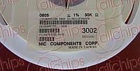Резистор постоянный NRC10F3002TR NIC 0805 1% 30kOhm