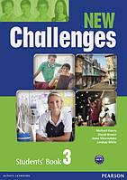 New Challenges 3 Комплект (Учебник + Тетрадь) Ч\Б копия!