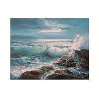 Naiyue Z009 Масляная живопись Морская печать Рисование алмазного рисунка Лазурный