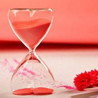 Подарки на День Святого Валентина Декоративная мебель Статьи Песочные часы Прозрачный