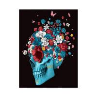 Naiyue S219 Skull Flower Print Draw Алмазный рисунок Цветной