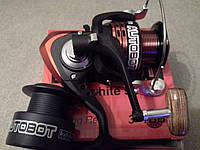 Спининговая катушка Bratfishing Autobot 1000 FD 3+1 BB. Катушка из качественных материалов.