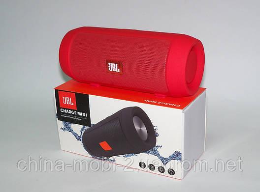 JBL Charge mini J006B 3W (реплика Charge2), блютуз колонка, красная, фото 2