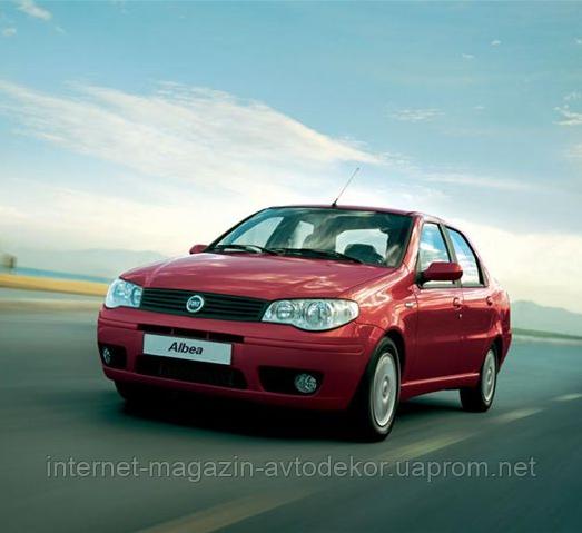 Брызговики модельные Fiat Albea (Лада Локер)