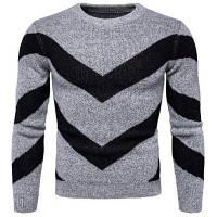 Человек британской моды футболки Цвет свитер Slim Y970 2XL