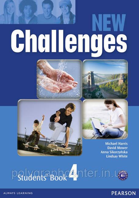 New Challenges 4 Комплект (Учебник + Тетрадь) Цветная копия!