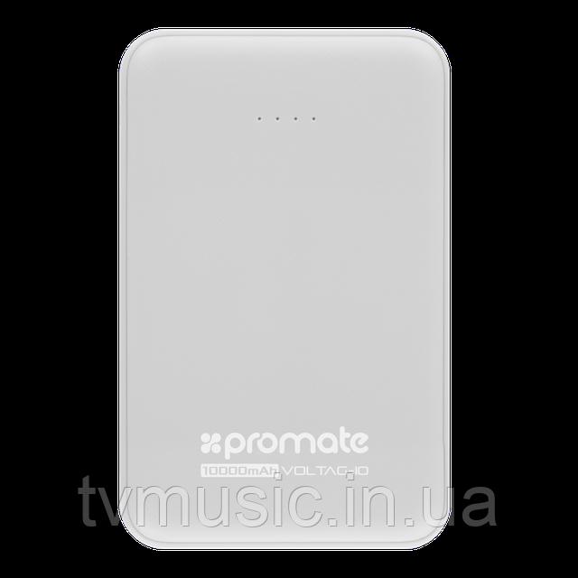 Повербанк Promate VolTag-10 10000 mAh White