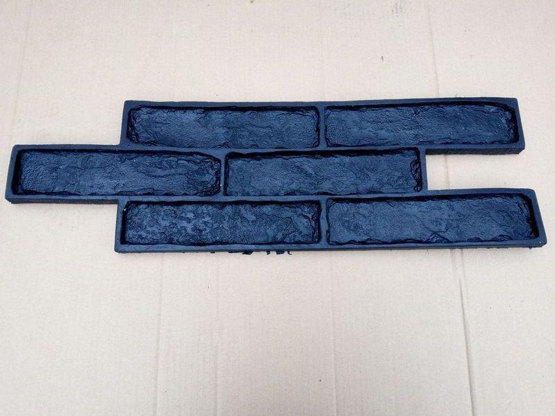 """Полиуретановый штамп для бетона """"Лондон"""", для стен и штукатурки"""